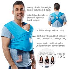 Makers of the award winning Baby K'tan Baby Carrier - a wrap without all the wrapping - and other innovative baby products.