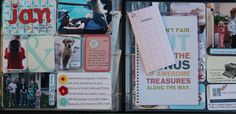 great blog post about Project Life, her process and a free printable with prompts for journaling. from #Jenny_Meyerson