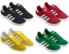 adidas Originals just announced the adidas Originals Muenchen – Olympic Ring Colors Pack ahead of the 2012 Summer Olympic Games in London