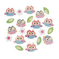 Owl Birthday Party Paper Confetti. One package of 2 oz Owl Birthday Party Paper Confetti. Perfect for any table. Find it at http://www.ezpartyzone.com/pd-owl-birthday-party-paper-confetti.cfm