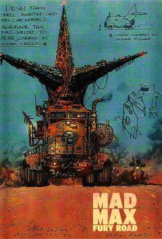 Pôster do filme Mad Max - Estrada da Fúria. 10 filmes de ação. O cinema disposto em todas as suas formas. Análises desde os clássicos até as novidades que permeiam a sétima arte. Críticas de filmes e matérias especiais todos os dias. #filme #filmes #cláss