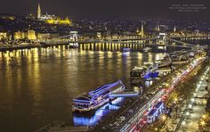 Magical photographs of Budapest at Christmas time by Rizsavi Tamás Budapest Christmas, Heart Of Europe, Budapest Hungary, Sydney Harbour Bridge, Eastern Europe, Around The Worlds, In This Moment, City, Building