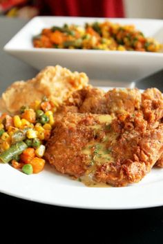 Spicy Fried Pork Chops-Creole Contessa