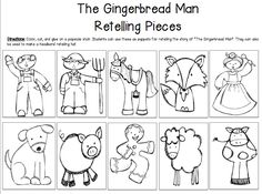 the gingerbread man sequencing printables - Google Search ...