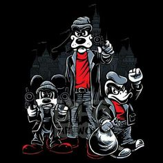 Grand Theft Auto: Disney world. Ruby Hernandez · Mickey Mouse