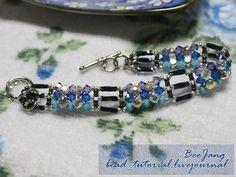 Beaded Bracelet TUTORIAL Bee Jang Block