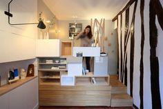 Lindo estúdio de apenas 12 metros quadrados - limaonagua