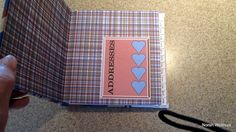 Hearts and Stripes inside cover.