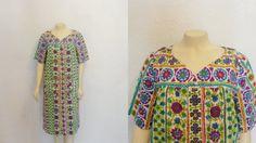 Vintage Housedress Housecoat Graphic Design door 2sweet4wordsVintage, $20.00