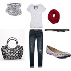 """School Outfit"" by izzybutt8 on Polyvore"