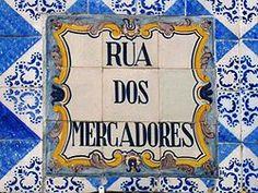 Rua Mercadores placa (Porto).JPG