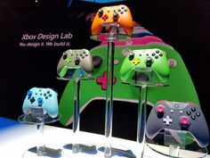 Curious as to what the new Xbox Design Lab controllers will actually look like? Wonder no more as we catch up with some samples live from the Xbox E3 showcase!