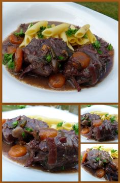Daube de boeuf du bon vieux temps Diner Recipes, Beef Recipes, Fabulous Foods, Stew, Main Dishes, Good Food, Food And Drink, Healthy Eating, Tasty