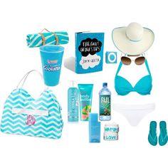 """""""What's in My Beach Bag!"""" by kristianneeeee"""