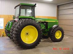 This is the 1992 John Deere 4960 thats on youtube that had was left setting outside for 20 yrs in Central Ohio with only 14 hrs on it after its been shined up. Says it now has 66 hrs and for sale for $200K
