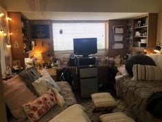 Texas Tech Dorm, Corner Desk, College, Furniture, Home Decor, Corner Table, University, Decoration Home, Room Decor