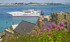 Condor ferry in Guernsey