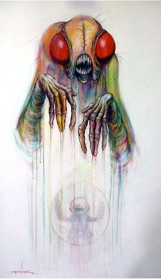 Alex Pardee - From The Letters of Digested Children Collection