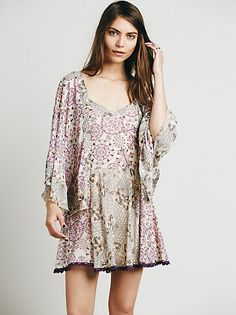 Free People Tied Up in Love Dress at Free People Clothing Boutique