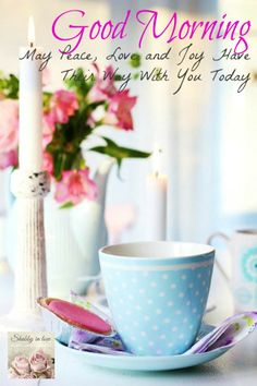 Good Morning Beautiful!  Have A Wonderful Day!  Please Be Kind, Share A Smile,  A Hug,  A Compliment,  Keep Pinterest A Happy Place For Everyone!  :) ♥ LoVe  ~N ~ Blessings  #LadyLuxuryDesigns