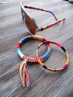 My favorite DIY in a while... The sunglasses especially!