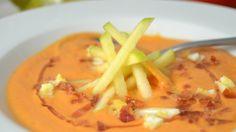Blog de recetas paso a paso. Gazpacho, Thai Red Curry, Fruit, Ethnic Recipes, Food, Soup Recipes, Soups, Ethnic Food, Essen