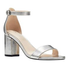Eight West Sandy Women's Block Heels, Size: 8, Metallic #promheels3inch #promheelsstilettos #promheelsstilettos #promheelsneutral #promheelslace #promheelssilver