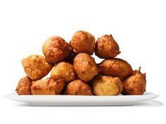 Almost-Famous Hushpuppies..food network kitchen broke down Long John Silver's famous recipe. Beware: this recipe makes 30.