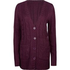 FULL TILT Essential Cable Knit Womens Cardigan 204886750 | Sweaters & Cardigans | Tillys.com