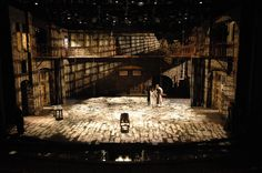 Les Misérables - set design by George Maxwell  Great, intense, gobo work