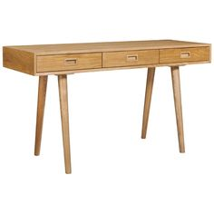Not really necessary but I like it!   Miss Wood 3 drawer desk | Freedom $699    (Width: 140 cm Height: 77 cm Depth: 50 cm)