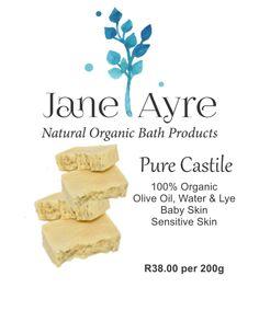 Pure Castile 100% Organic Soap
