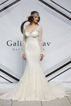Gatsby / Art Deco inspired wedding dresses // Galia Lahav Autumn / Winter 2015 Collection // Wedding Blog | Confetti Daydreams #flapper #roaringtwenties
