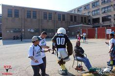 #MVP360 #Philadelphia #Eagles #Flag #Football #Eagles #Care #Championship Day! #Swoop & Eagles #Cheerleaders visit! https://www.mvp360.org/