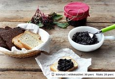A legfinomabb bodzalekvár receptje - Recept Top 15, Camembert Cheese, Dairy, Pudding, Snacks, Canning, Sweet, Food, Candy