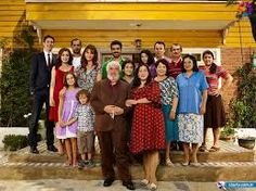 In Turkey, family is really important. Families are big and often live together.