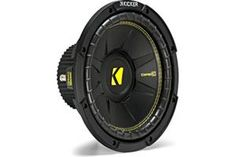 Kicker CompC Series subwoofer at Crutchfield 12 Inch Subwoofer, Subwoofer Speaker, Car Amplifier, Speakers, Truck Sub Box, 4x4 Ford Ranger, Car Audio Systems, Car Sounds