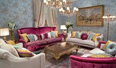 Bruno Zampa, Simbolo del lifestyle italiano, materiali preziosi, colori vivi.  Vedi piu idee di arredi - http://www.spazidilusso.it/