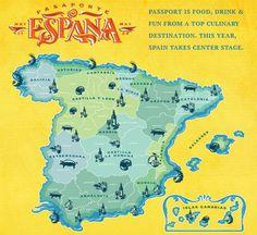 TOUCH this image: Un viaje culinario por España by Jade Dickerson