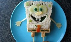 Father who created cartoon-themed 'funky lunches' to get his children to eat fruit and veg creates his own party recipe book | Daily Mail Online