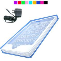 """Sony PRS 600 Silicone Skin Cover + Wall Charger for PRS 600 (Clear) by LuxmoDW. $8.21. """"This Package includes: . Silicone Skin for Sony eReader PRS 600  . A Wall Charger"""""""