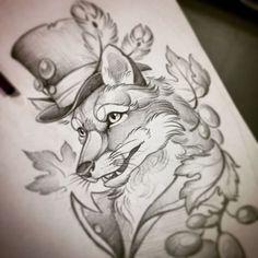 In progress..@clodin_93 #tatts #tattoo #tattoos #tattooflash #tattoosketch #tattoostagram #flash #sketch #sketching #fox #foxtattoo #foxdraw #foxsketch #neotrad #newtraditaly #neotraditional #neotraditionalsketch #neotraditionaltattoo #neotraditionalfox #ink #clodintattoo #mryanceytattooink #pencil #draw #newtraditional