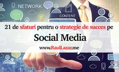 """Te-ai întrebat vreodată cum să folosești Social Media pentru a genera vânzări? Sau care sunt cele mai bune moduri de a avea o strategie de succes pe Social Media? Social Media pe lângă """"brand awareness"""" are potentiatul de a fi una dintre sursele de top în generarea de vânzări. Identif… Internet Marketing, Online Marketing, Mai, Social Media, Social Networks, Social Media Tips"""
