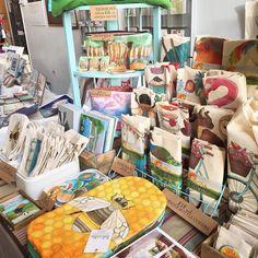 A little snapshot of my stall at the #MadeinBristol Gift Fair in #ColstonHall today 10am-4pm #mibgf Ceridwen Hazelchild Design