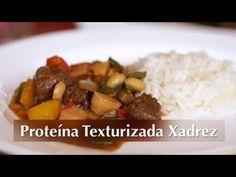 Receita de Proteína Texturizada Xadrez (Vegan) - YouTube