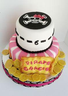 Girly pirate birthday