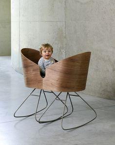 Rocking chair Dimdim par Lisse Van Cauwenberge