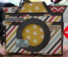 leaky shed studio and simple stories Say Cheese mini album