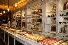 Angelina: The pastry display