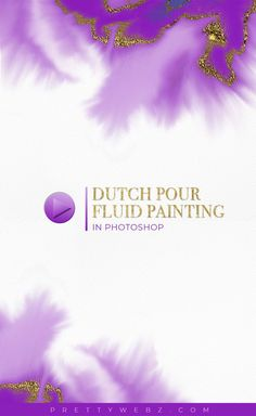 Simulate dutch pour fluid painting in Photoshop. Dutch pour is a fluid painting technique that used large amounts of paint to create fluid motion. The dutch . Graphic Design Tutorials, Layout Inspiration, Social Media Graphics, Blogging For Beginners, Abstract Paintings, Pinterest Marketing, Painting Techniques, How To Start A Blog, Cool Photos